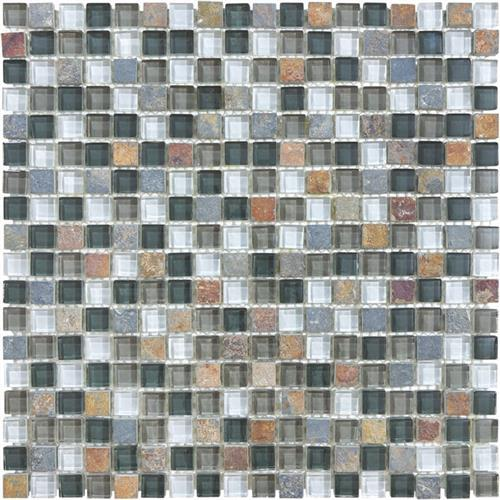 Mini Mosaics 18 Stone  Glass Mosaic