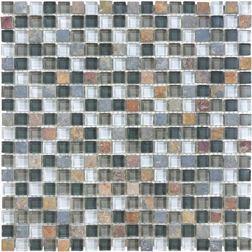 #18 Stone & Glass Mosaic