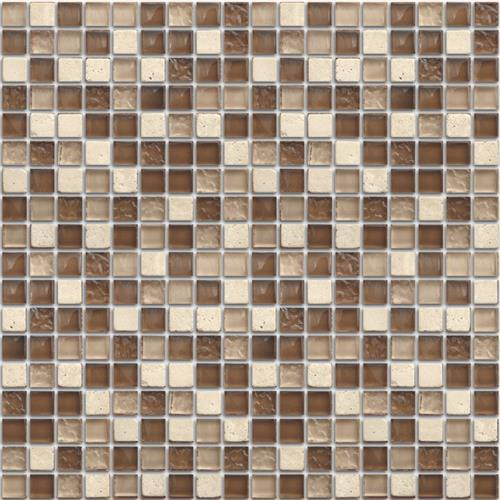 Mini Mosaics 9 Stone  Glass Mosaic