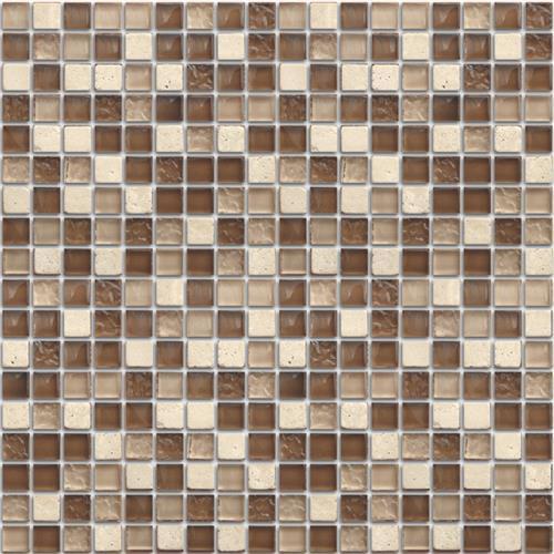 Mini Mosaics 9 Stone  Glass Mosaic