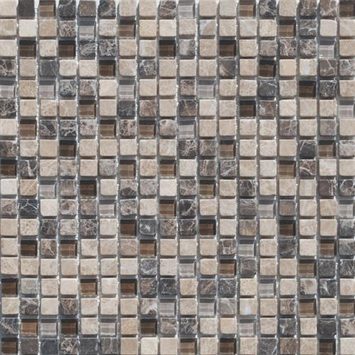 Mini Mosaics 3 Stone  Glass Mosaic