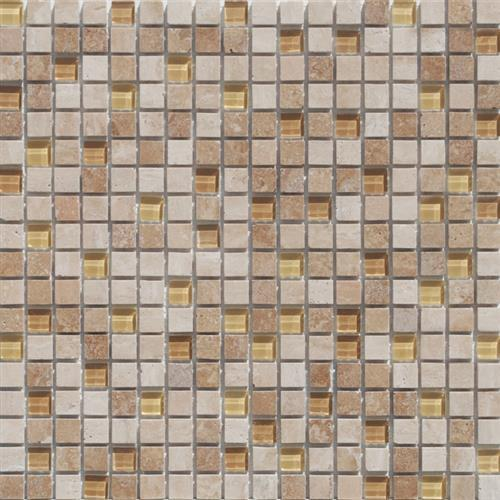 Mini Mosaics 4 Stone  Glass Mosaic