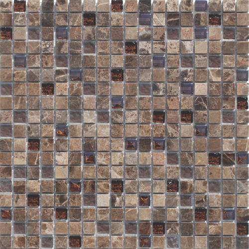 Mini Mosaics 5 Stone  Glass Mosaic