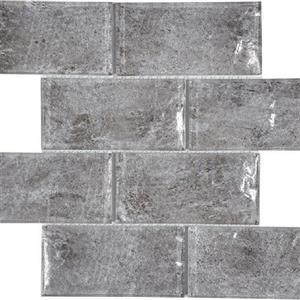 GlassTile Revere TASREVEHAZEL36 Hazel-3x6