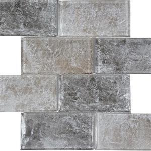 GlassTile Revere TASREVEHAZNAT36 HazelNatural-3x6