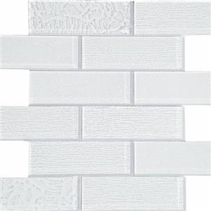 GlassTile TerraBella TRMTEBEWHITE26 White