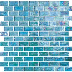 GlassTile ReflectionsSolids KEEKELUEX21230 Excalibur-1x2