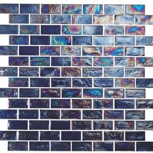 GlassTile ReflectionsSolids KEEKELUPR21204 Provocative-1x2