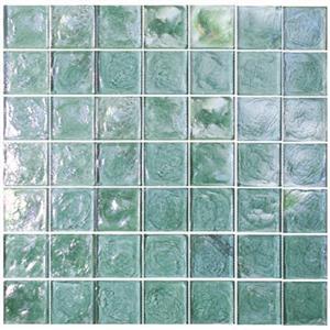 GlassTile ReflectionsSolids KEEKELUTO2121 Tourmaline-2x2