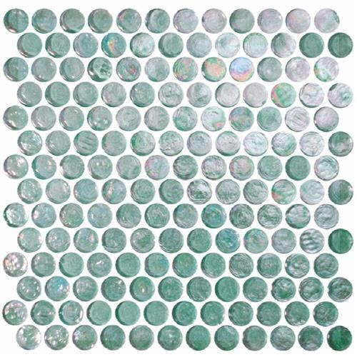 Reflections Solids Tourmaline - Round Mosaic