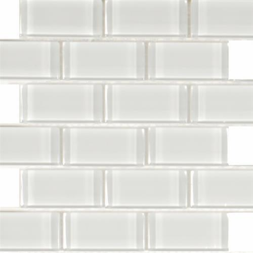 Pure White White - Staggered 2X4