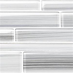 GlassTile Strata BELSTRLPLA524 Platinum