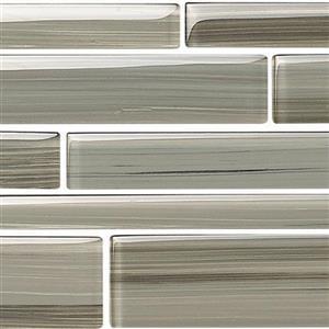GlassTile Strata BELSTRLTUN524 Tungsten