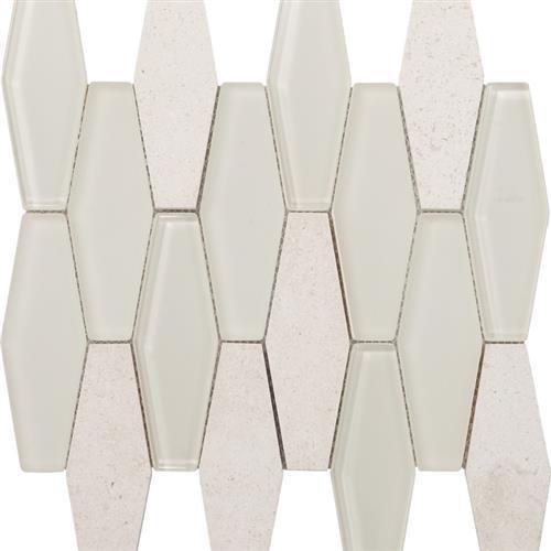Metropolitan Stone  Glass Blend Chablis - Honed Diamond