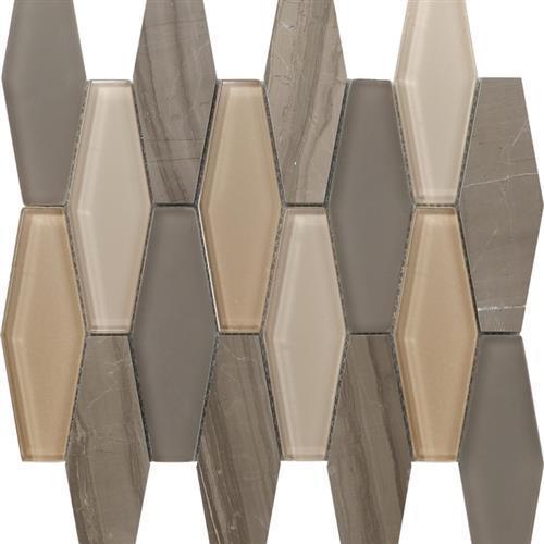 Metropolitan Stone  Glass Blend Dune - Polished Diamond