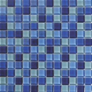 GlassTile AquaColorsBlends KEEKELU11AQBLBA BaliCrystal