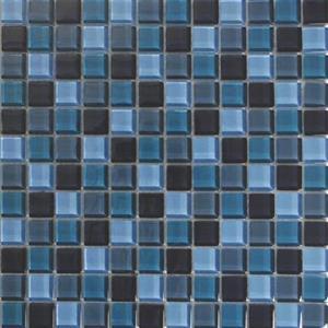 GlassTile AquaColorsBlends KEEKELU11AQBLTA TahitiCrystal