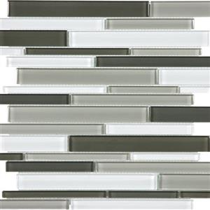 GlassTile Element ANAELEMMINBRS Mineral-RandomMosaic