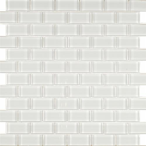 Pure White - Staggered 1X2
