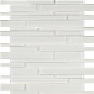 GlassTile Pure KEEKEPWGRL White-Random