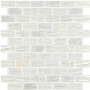 GlassTile MoonBrick VIDVIMB652 White