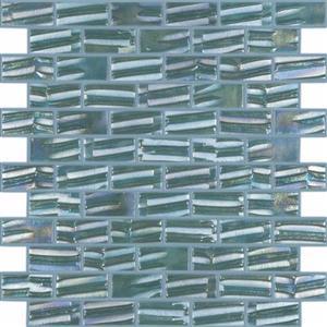 GlassTile MoonBrick VIDVIMB661 Aqua