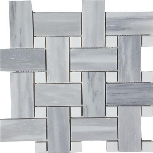 Brushed Basketweave Mosaic