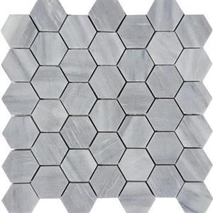 NaturalStone CirrusDolomiti STDBRUSCIDHEX2 Brushed2HexagonMosaic