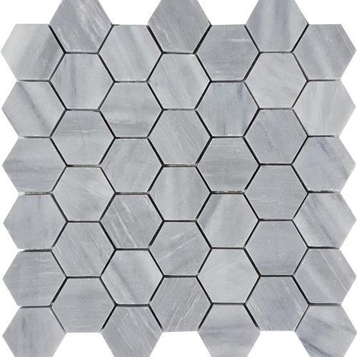 Cirrus Dolomiti Brushed 2 Hexagon Mosaic