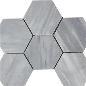 NaturalStone CirrusDolomiti STDBRUSCIDHEX4 Brushed4HexagonMosaic