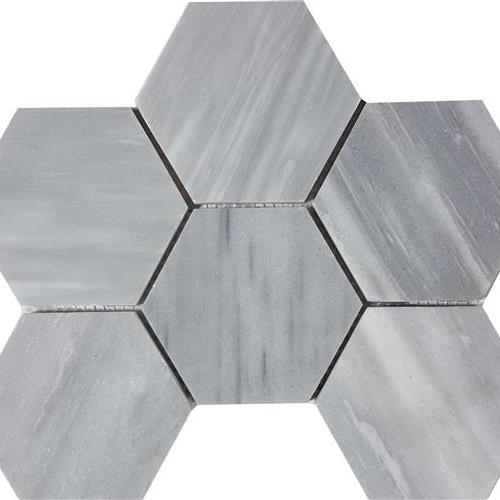 Cirrus Dolomiti Brushed 4 Hexagon Mosaic