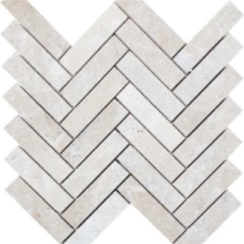 Chateaux Brushed Herringbone Mosaic