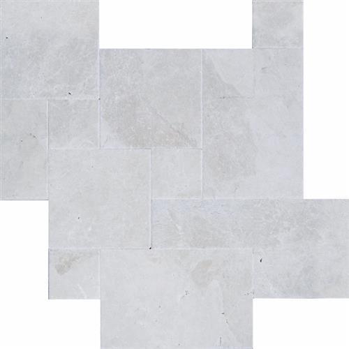 Chiseled & Brushed Versailles Pattern