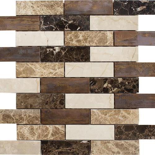 Vintage Copper Blend 1X4 Mosaic