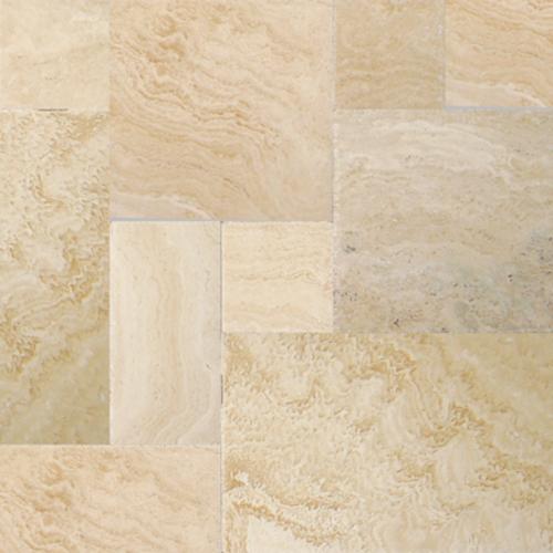 NaturalStone Avorio Chiseled & Brushed Versailles Pattern  main image