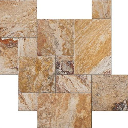 Antique Chiseled  Brushed Stone 2 Scabos Veneziano