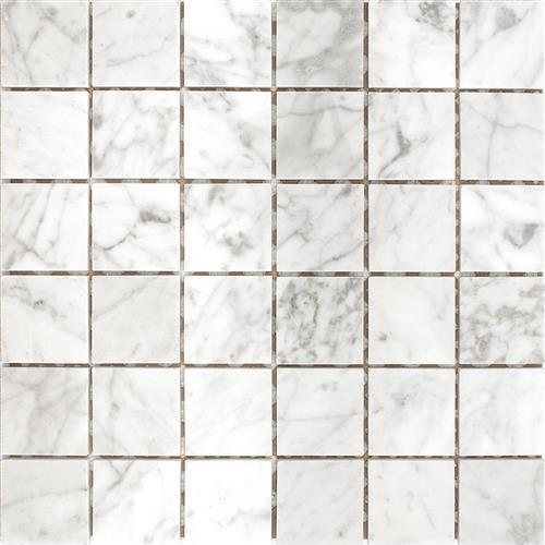 Carrara White 2X2 Mosaic