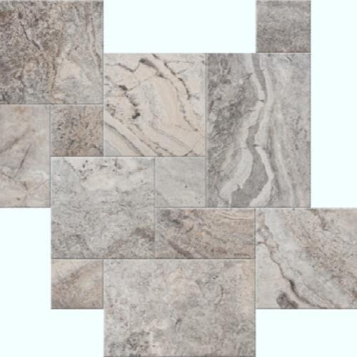 Silverado Chiseled  Brushed 4Pc Versailles Pattern