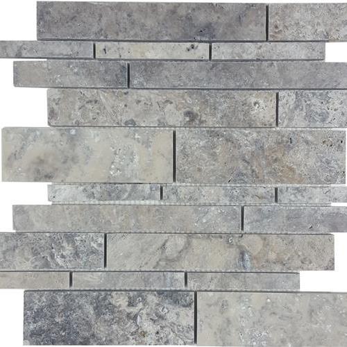 Silverado Brushed Random Linear Mosaic
