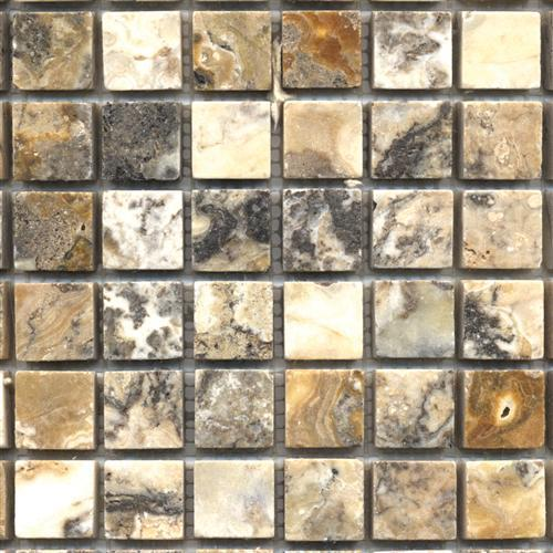 Travertino Mix Antique Brushed Travertine