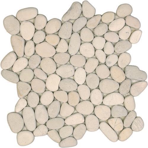 Ocean Stones  White Pebble