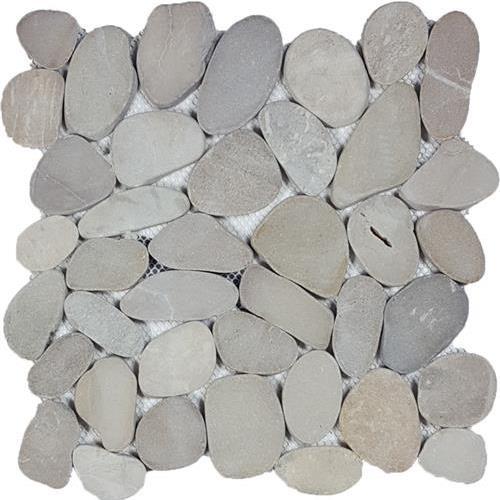 Ocean Stones  Tan Sliced