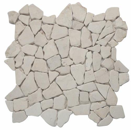 Ocean Stones  White Tumbled