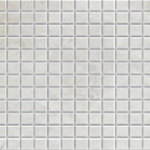 Imperial Pearl Brushed 1X1 Mosaic