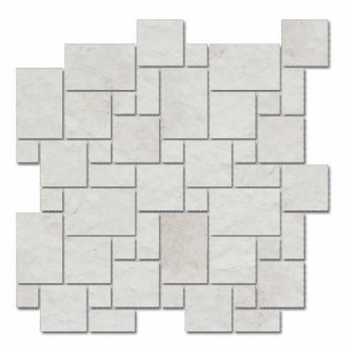 Imperial Pearl Brushed Micro Versailles Mosaic