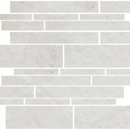 Imperial Pearl Brushed Random Linear Mosaic