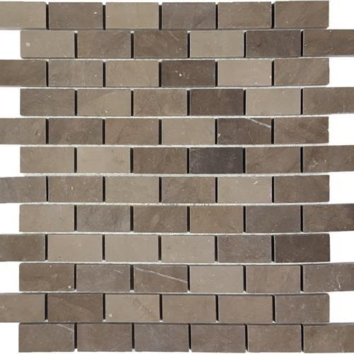 Metropolitan - Limestone Bark Staggered Mosaic