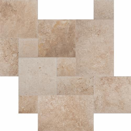 Chiseled & Brushed 4pc Versailles Pattern