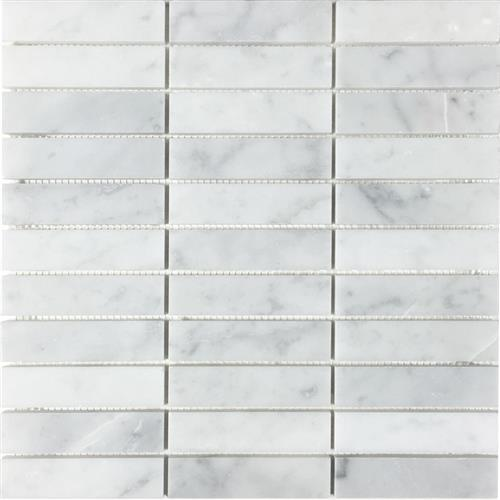 Metropolitan - Stone White Cararra Honed Stacked