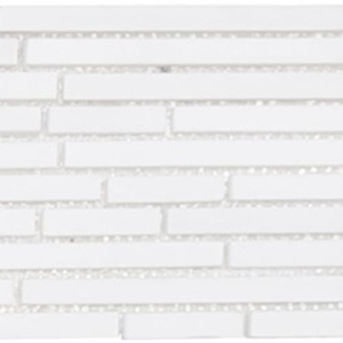Metropolitan - Stone White Dolomite Honed Mini Pixie Strip